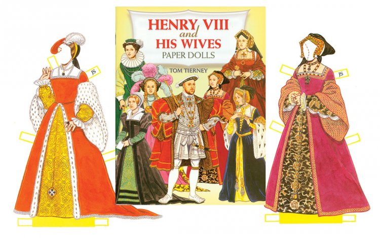 Henry VIII Paper Dolls - Click Image to Close