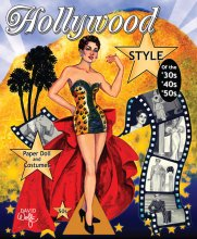 Hollywood Style of the 30s, 40s and 50s Paper Dolls