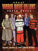 Great Horror Movie Villains Paper Dolls