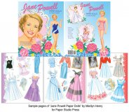 Jane Powell Paper Doll by Marilyn Henry