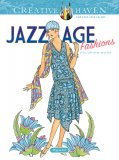 Jazz Age Fashions Coloring Book