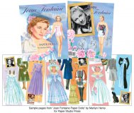 Joan Fontaine Paper Dolls