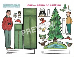 John and Daddy Go Camping