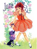 June Paper Doll