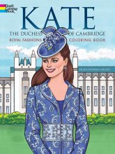 Kate the Duchess of Cambridge Coloring Book
