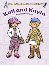 Kati and Kayla Color 'n Cut Paper Doll