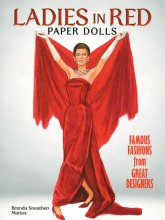 Ladies in Red Paper Dolls