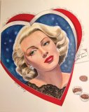 Gorgeous Lana Turner Portrait Print by Marilyn Henry - ONE ONLY
