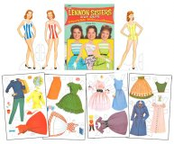Lennon Sisters County Fair Paper Dolls