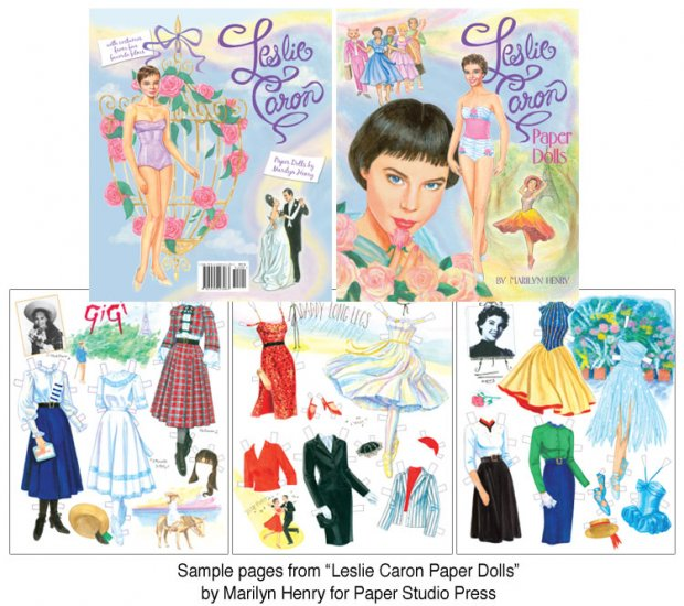 Leslie Caron Paper Dolls - Click Image to Close