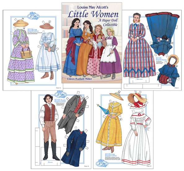 Little Women by Rudy Miller - Click Image to Close