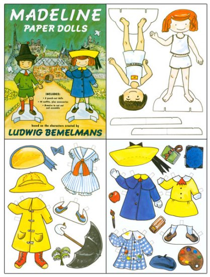 Madeline Paper Dolls - Click Image to Close