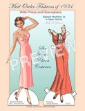Mail Order Fashions of 1934