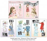 Margaret O'Brien Paper Dolls