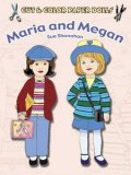 Maria and Megan Color 'n Cut Paper Doll