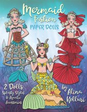 Mermaid Fashion Paper Dolls