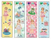 Miloche Party Bookmarks
