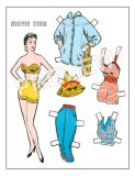 Movie Star Paper Doll