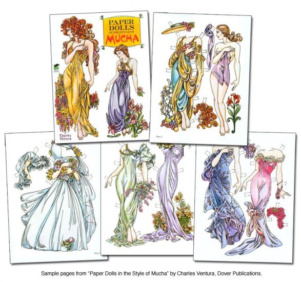 Mucha Paper Dolls - Click Image to Close