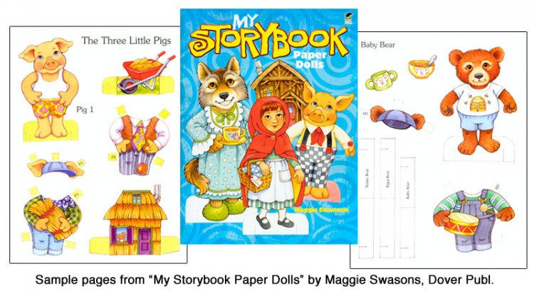 My Storybook Paper Dolls - Click Image to Close