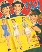 Navy Girls and Marines Paper Dolls