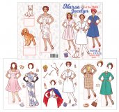 Nurse Jocelyn of the 1940s Paper Dolls