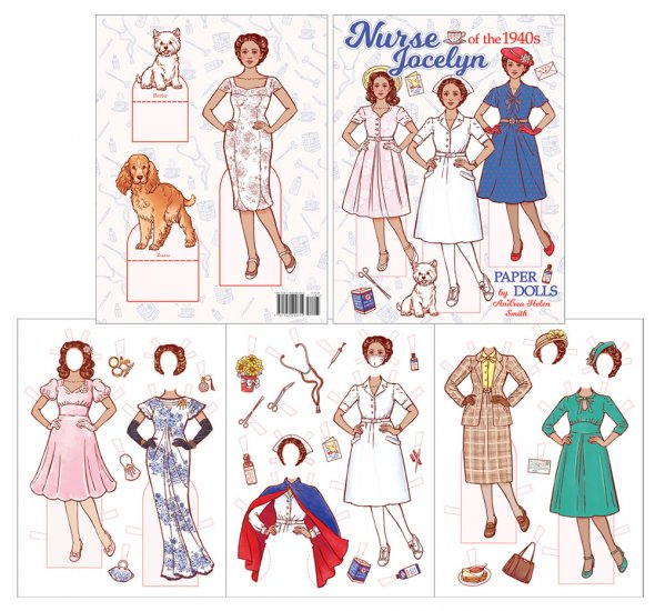 Nurse Jocelyn of the 1940s Paper Dolls - Click Image to Close