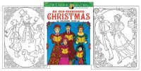 An Old Fashioned Christmas Coloring Book