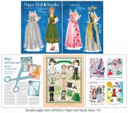 OPDAG - Paper Doll Studio Issue 114 - Holidays