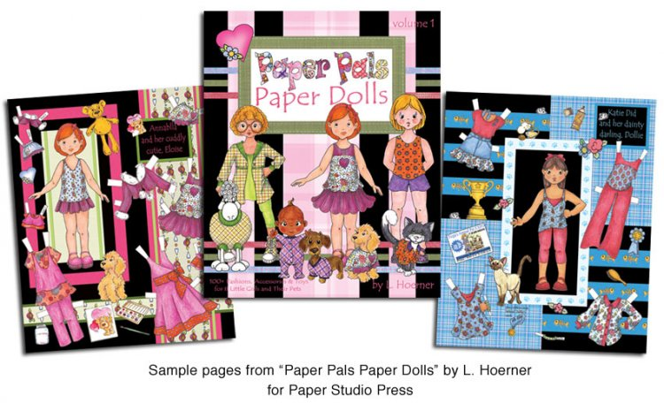 Paper Pals Paper Dolls - Click Image to Close