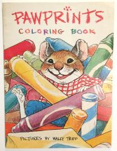 Pawprints Coloring Book by Wally Tripp - from 1977 - ONE ONLY