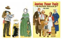American Pioneer Family Paper Dolls