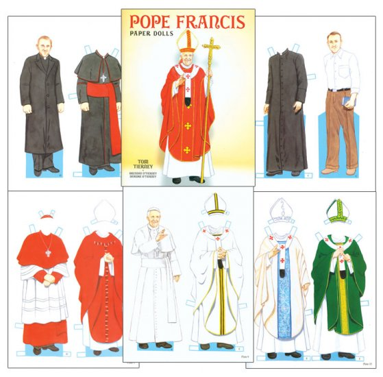 Pope Francis Paper Dolls - Click Image to Close