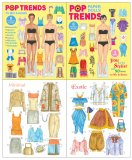 Pop Trends Paper Dolls