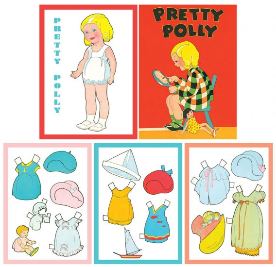 Pretty Polly Paper Dolls - Click Image to Close