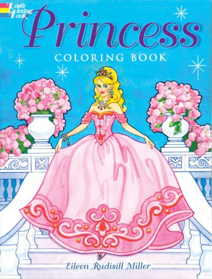 Princess Coloring Book - Click Image to Close