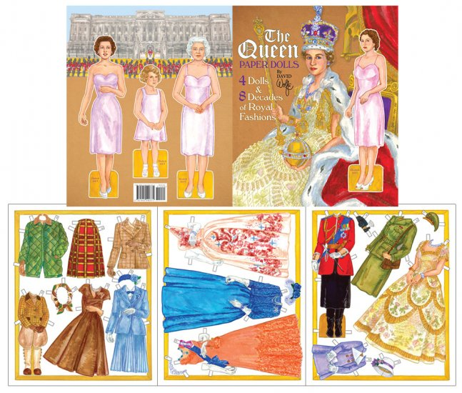 The Queen - Queen Elizabeth II Paper Dolls - Click Image to Close