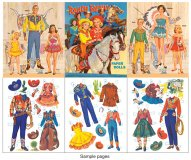 The Ranch Family Paper Dolls