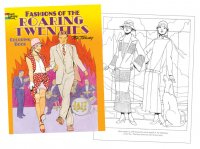 Roaring Fashions of the Twenties Coloring Book