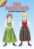 Little Scandinavian Girls Sticker Paper Doll
