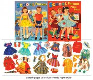 School Friends Paper Dolls