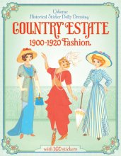 Country Estate Sticker Paper Doll
