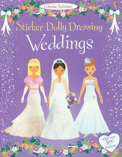Sticker Dolly Dressing Weddings Wedding Sticker Dress Up Paper Dolls Of Classic Stars Vintage Fashion And Nostalgic Characters For Kids And Collectors