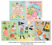 Storybook Seasons Paper Dolls