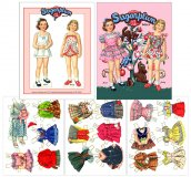 Sugarplum Paper Dolls
