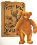 Teddy Bear Paper Doll - J. Ottmann Lithograph 1907 - ONE ONLY