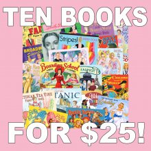 Paper Doll Care Package 10 Books for $25!