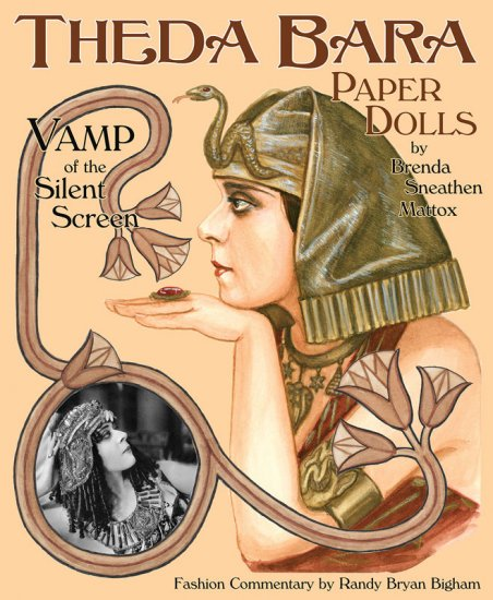 Theda Bara Paper Dolls - Click Image to Close