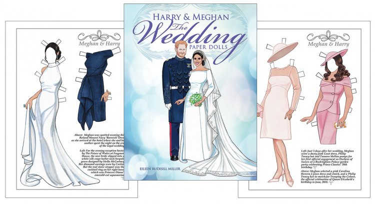 The Wedding Paper Dolls - Harry and Meghan - Click Image to Close