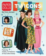 TV Icons Paper Dolls by Cory Jensen